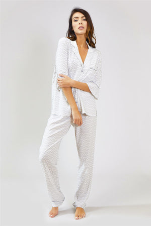 Mix and Match Trousers in Romance White (Trousers only)
