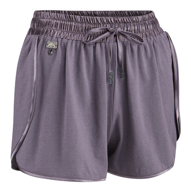 Womens Jazz Shorts in Smokey Pearl