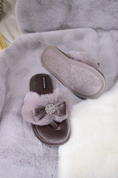 Womens Toe Post - Amelie - Mink