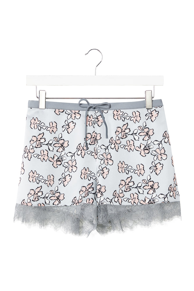 Mix and Match Floral Shorts in Duck Egg Blue (Shorts only)