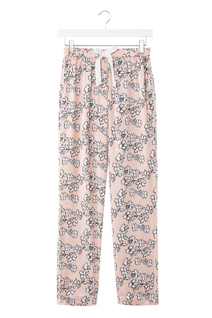 Mix and Match Floral Trousers in Blush Pink (Trousers only)