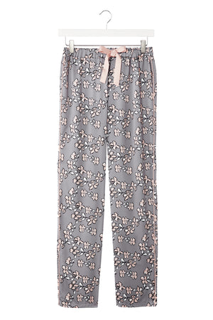 Mix and Match Floral Trousers in Dove Grey (Trousers only)