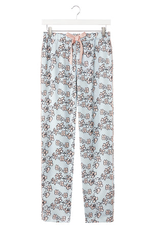 Mix and Match Floral Trousers in Duck Egg Blue (Trousers only)