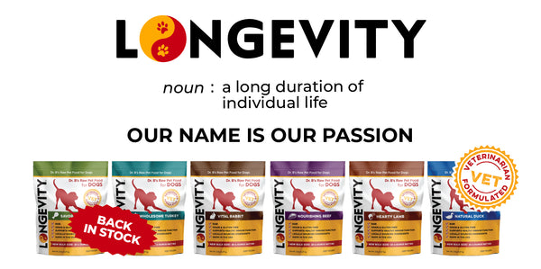 Dog Products - Longevity Raw Pet Foods