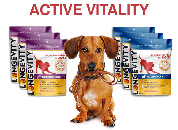Active Vitality Bundle - Longevity Raw Pet Foods