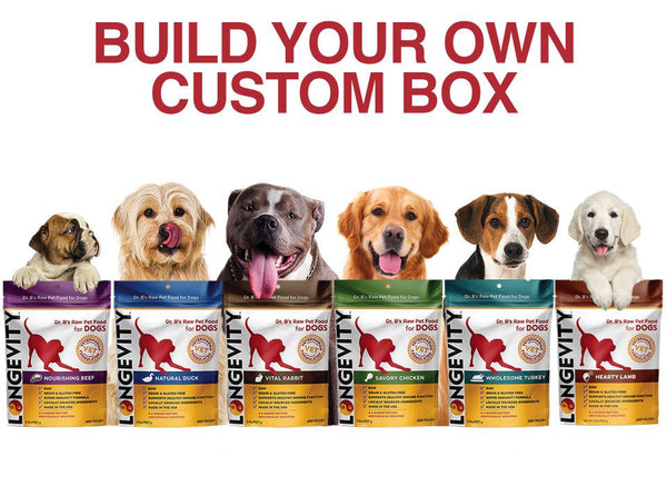 Build your Own Bundle Box - Longevity Raw Pet Foods
