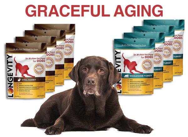 Graceful Aging Bundle - Longevity Raw Pet Foods