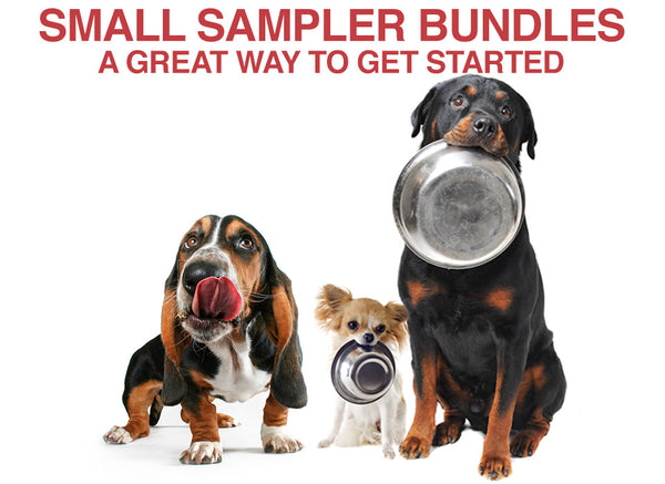 Small Sampler Bundles - Longevity Raw Pet Foods