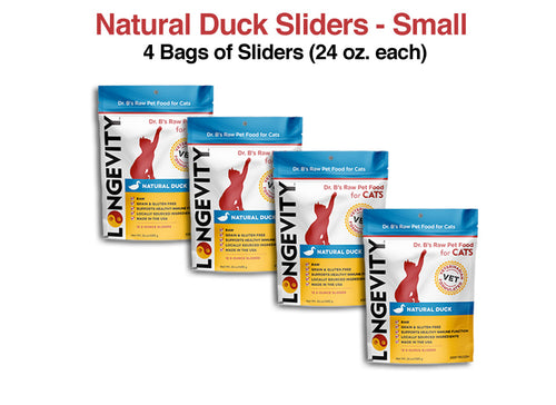 Longevity Natural Duck Cat Food