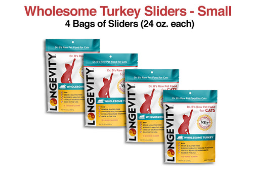 Longevity Wholesome Turkey Cat Food