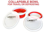 Collapsible Defrosting Bowl
