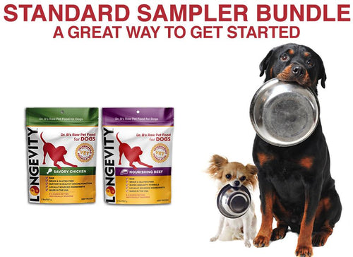 Standard Sampler Dog Food Bundle