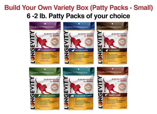 Build Your Own Dog Food Variety Box (Patty Packs - Small)