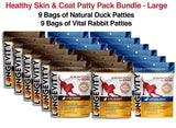 Healthy Skin & Coat Dog Food Patty Pack Bundle