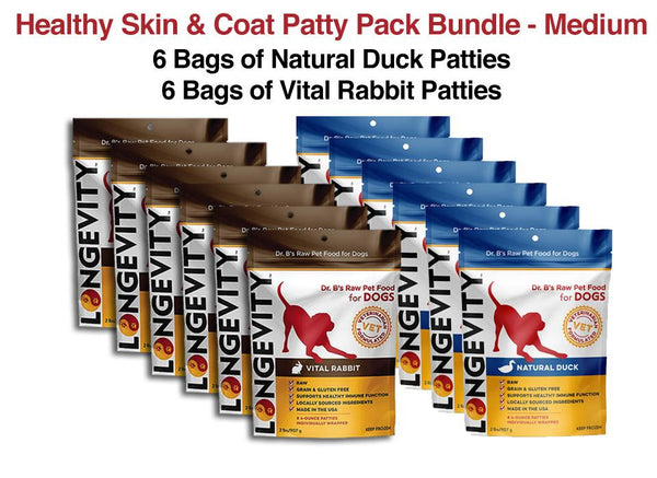 Healthy Skin & Coat Patty Pack Bundle