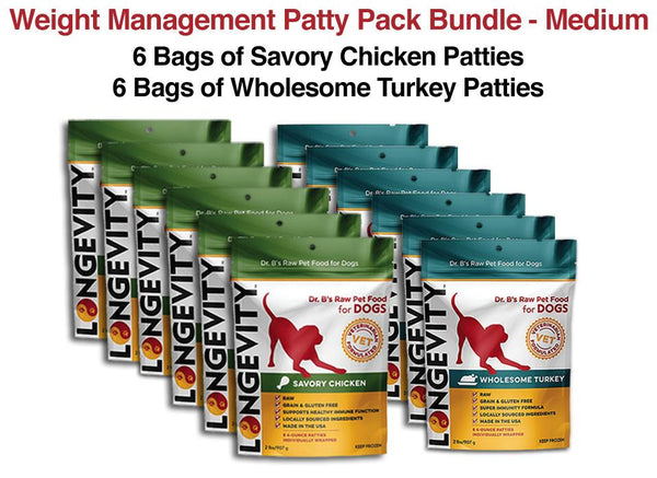 Weight Management Patty Bundle