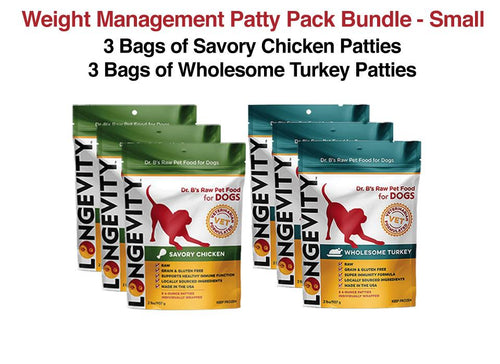 Weight Management Dog Food Patty Bundle
