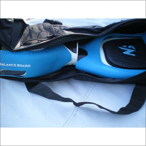 Sac Hoverboard 6.5 Noir + Pack Protections Silicone Bleu+ pédales - Miscooter