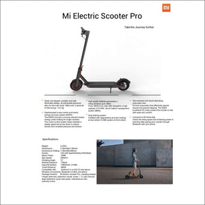 Xiaomi trotinette Version Pro France - Miscooter
