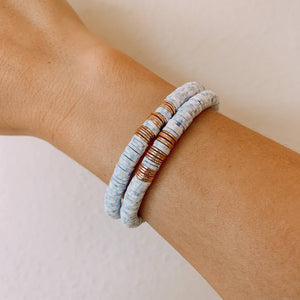 Cloud Stack Bracelet