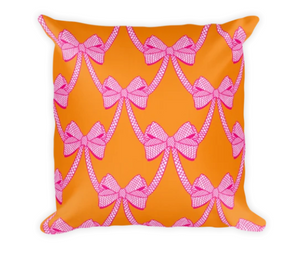 Put A Bow on it Fine art printed on pillow cover
