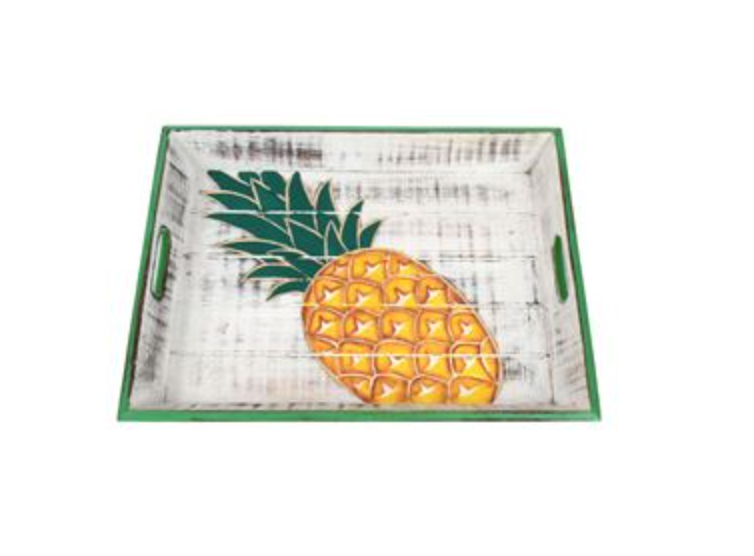 Carved Pineapple Tray
