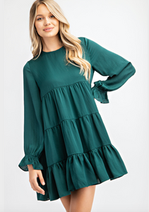 Green Babydoll Dress