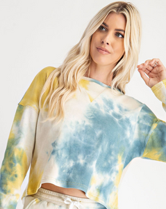 Thermal Tie Dye Top