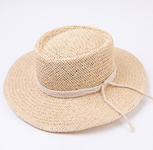 Seabreeze Boater Straw Hat