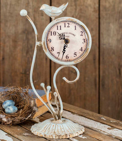 Songbird Desk Clock - Cakra Ardor