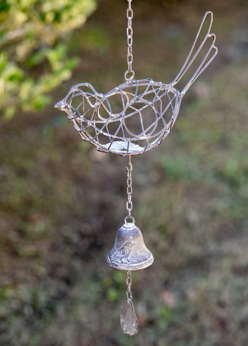 Hanging Wire Bird with Bell - Cakra Ardor