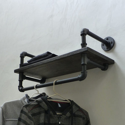 Ann Harbor Industrial Display Clothing Shelf Rack - Cakra Ardor