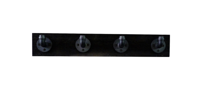San Antonio Industrial Wall Mounted Coat Rack - Cakra Ardor