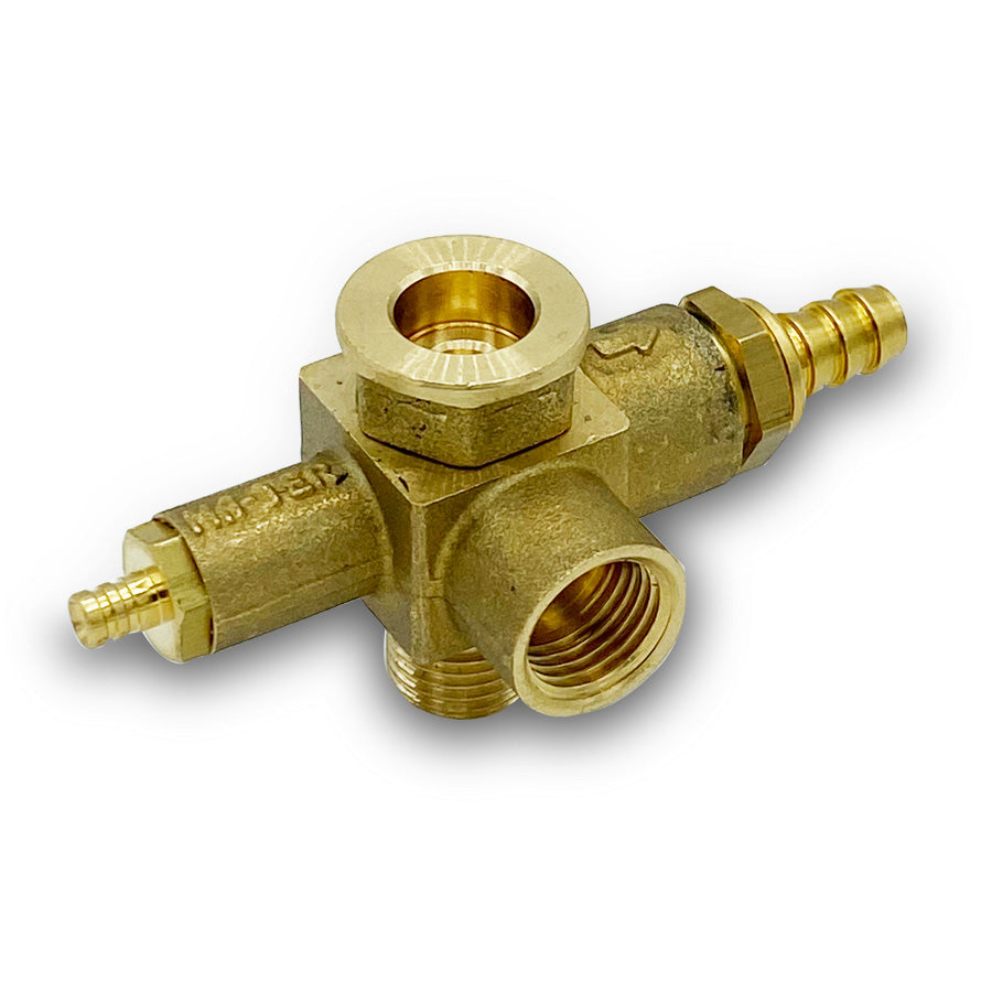 Vacuum/Safety Combo Valve
