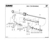 Claas Dominator 118/108 Parts Catalogue, Spares Manual PDF