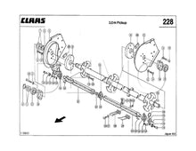 Claas Jaguar 690SL Parts Catalogue, Spares List, Manual