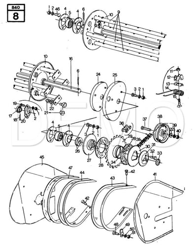 Baler New Holland Spare Parts Catalogue, Parts Catalog