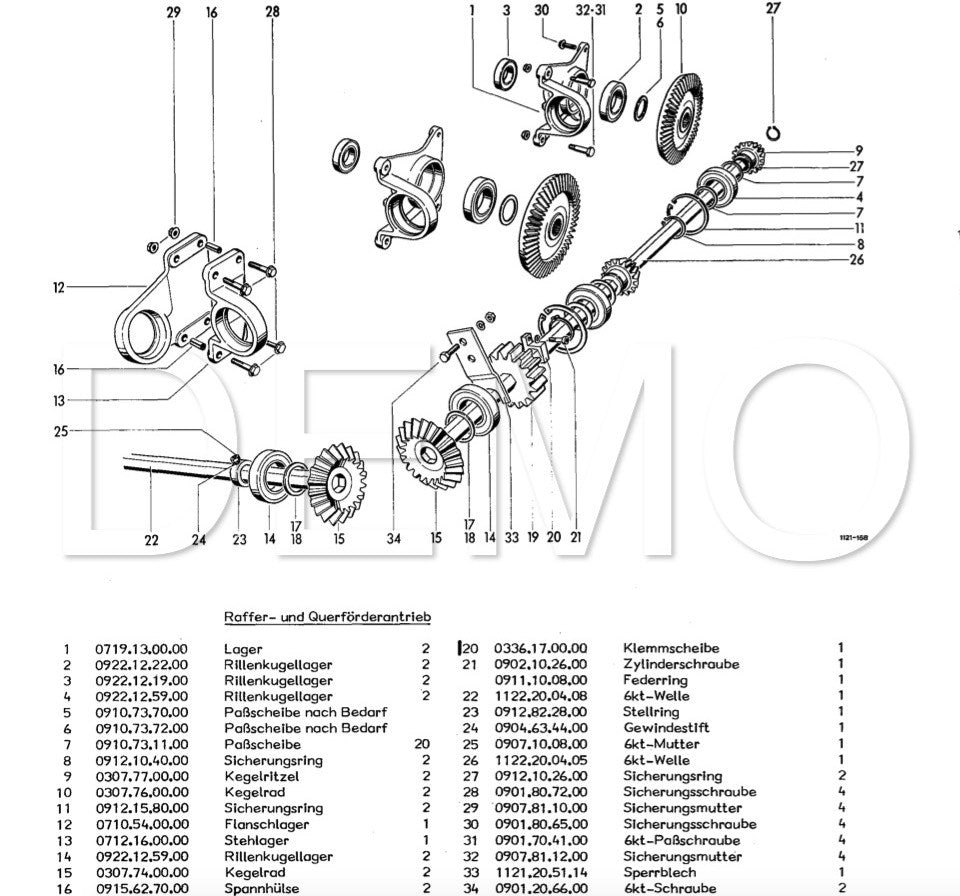 Welger RP12 Parts Catalogue, Spare Parts List, Manual (PDF