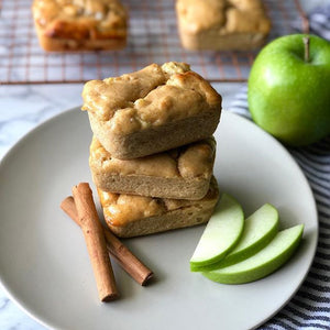 APPLE CINNAMON BREAD MINI LOAVES by Brooke Zigler