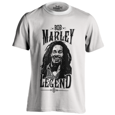 Printed T-shirt - The Legend Marley