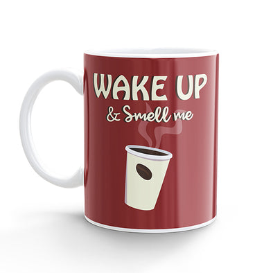 Coffee Mug - Wake up & Smell me (325ml)