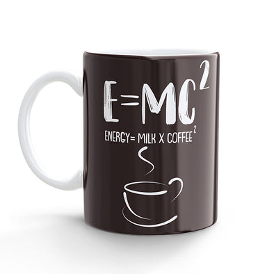 Coffee Mug - E=MC Square (325ml)