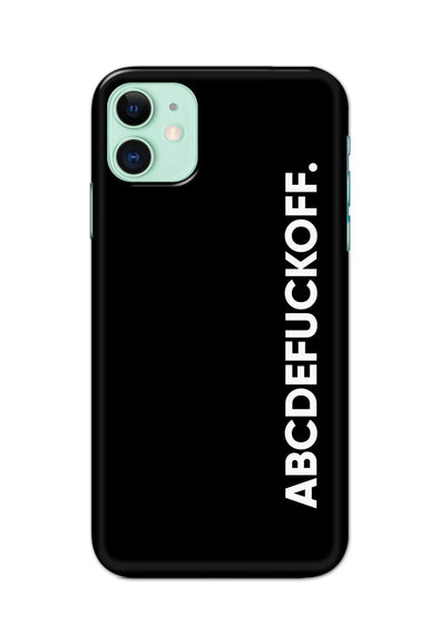 Apple Iphone11 -ABCDEFUCKOFF