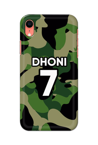 Apple Iphone XR - Dhoni 7 Green Camo