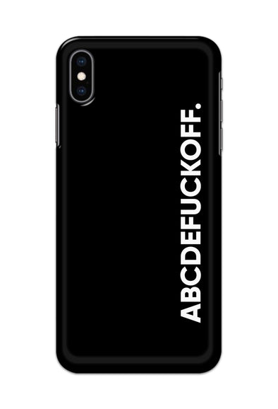 Apple Iphone XS- ABCDEFUCKOFF