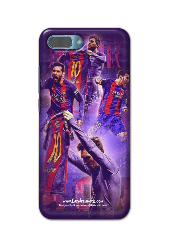 Honor 10 - Lionel Messi Celebration Collage