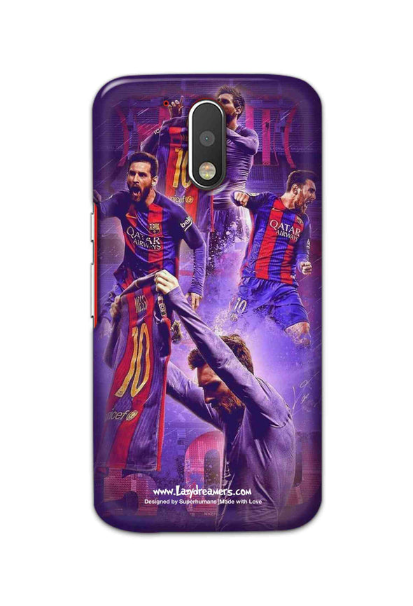 Motorola Moto G4 - Lionel Messi Celebration Collage