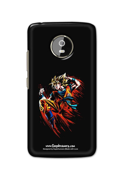 Motorola Moto G5 - Dragon Ball Z Goku Illustration