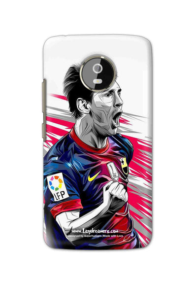 Motorola Moto G5 - Lionel Messi Fan Artwork