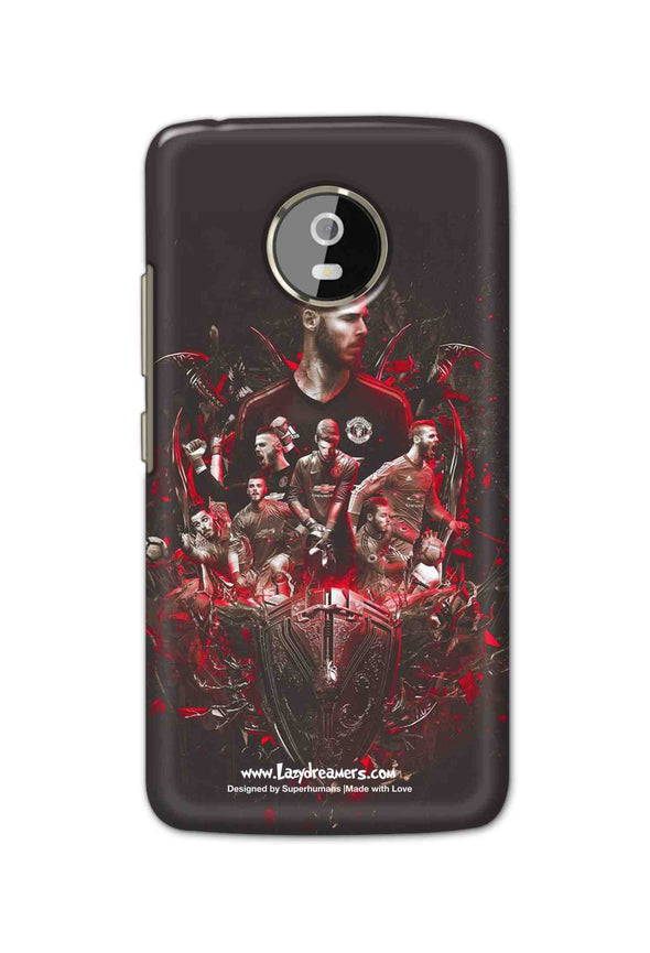 Motorola Moto G5 - The Red Devils